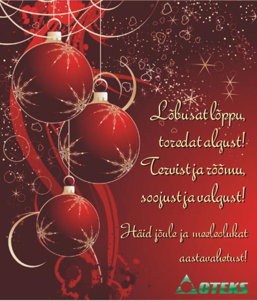 jõulukaart-est